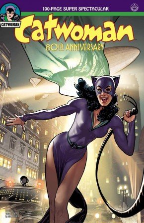 CATWOMAN 80TH ANNIVERSARY 100 PAGE SUPER SPECTACULAR #1 1940S ADAM HUGHES VARIANT