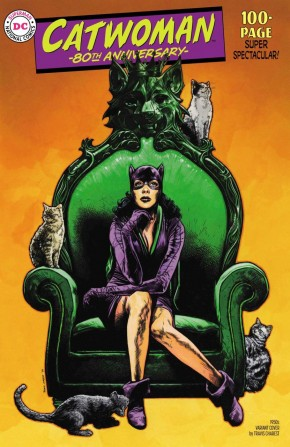 CATWOMAN 80TH ANNIVERSARY 100 PAGE SUPER SPECTACULAR #1 1950S TRAVIS CHAREST VARIANT