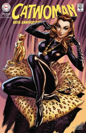 CATWOMAN 80TH ANNIVERSARY 100 PAGE SUPER SPECTACULAR #1 1960S J SCOTT CAMPBELL VARIANT
