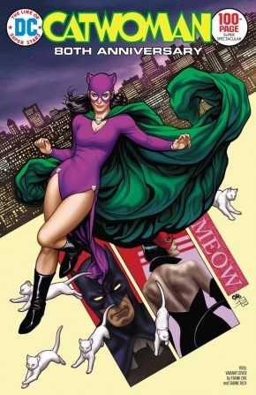 CATWOMAN 80TH ANNIVERSARY 100 PAGE SUPER SPECTACULAR #1 1970S FRANK CHO VARIANT