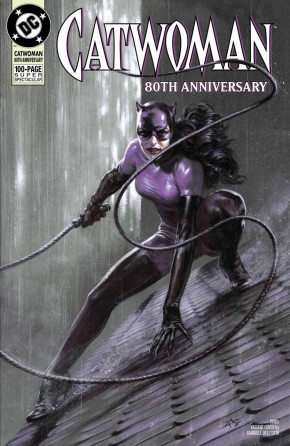 CATWOMAN 80TH ANNIVERSARY 100 PAGE SUPER SPECTACULAR #1 1990S GABRIELLE DELLOTTO VARIANT