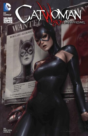 CATWOMAN 80TH ANNIVERSARY 100 PAGE SUPER SPECTACULAR #1 2010S JEEHYUNG LEE VARIANT