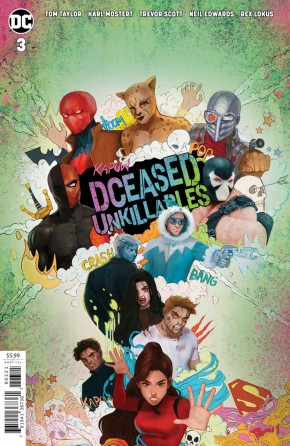 DCEASED UNKILLABLES #3 CARD STOCK HORROR TASIA MS VARIANT