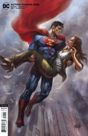 ACTION COMICS #1022 (2016 SERIES) PARRILLO VARIANT