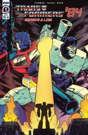 TRANSFORMERS 84 SECRETS AND LIES #1 ROCHE 1 IN 10 INCENTIVE