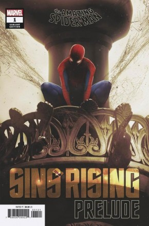 AMAZING SPIDER-MAN SINS RISING PRELUDE #1 BOSS LOGIC VARIANT
