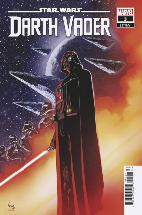 STAR WARS DARTH VADER #3 (2020 SERIES) KUDER 1 IN 25 INCENTIVE