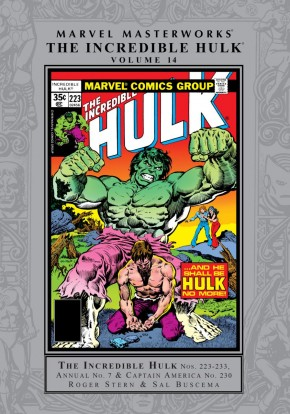MARVEL MASTERWORKS INCREDIBLE HULK VOLUME 14 HARDCOVER