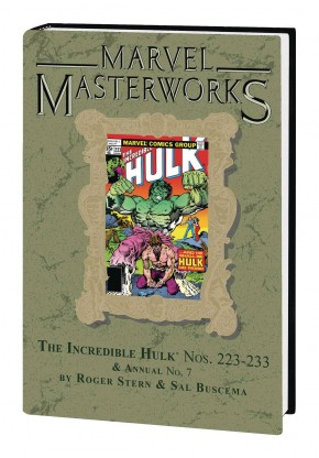 MARVEL MASTERWORKS INCREDIBLE HULK VOLUME 14 DM VARIANT #294 EDITION HARDCOVER