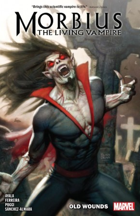 MORBIUS VOLUME 1 OLD WOUNDS GRAPHIC NOVEL