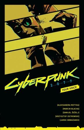 CYBERPUNK 2077 YOUR VOICE GRAPHIC NOVEL