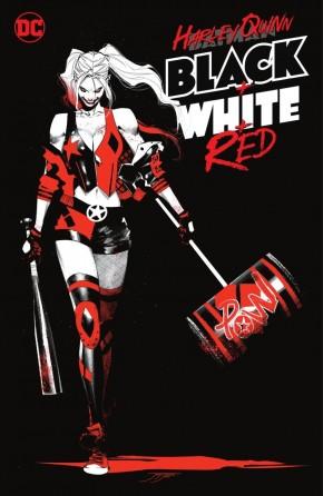 HARLEY QUINN BLACK WHITE AND RED GRAPHIC NOVEL