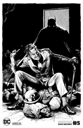 BATMAN BLACK AND WHITE #5 (2020 SERIES) GARY FRANK THE RIDDLER VARIANT