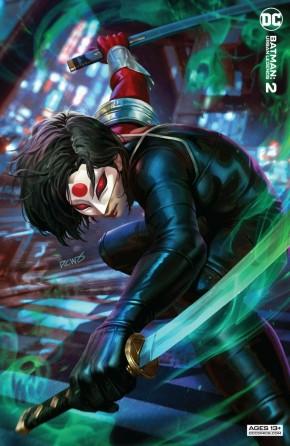 BATMAN URBAN LEGENDS #2 DERRICK CHEW VARIANT