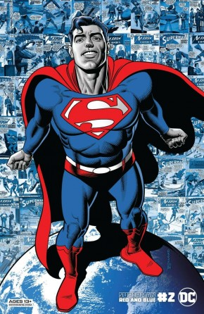 SUPERMAN RED AND BLUE #2 BRIAN BOLLAND VARIANT
