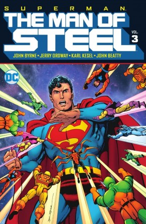 SUPERMAN THE MAN OF STEEL VOLUME 3 HARDCOVER