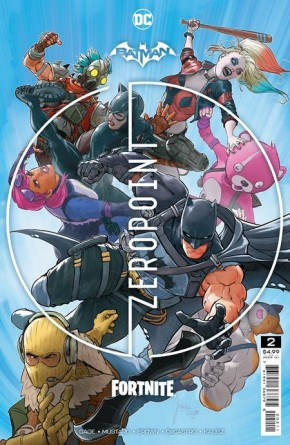 BATMAN FORTNITE ZERO POINT #2 1ST PRINTING
