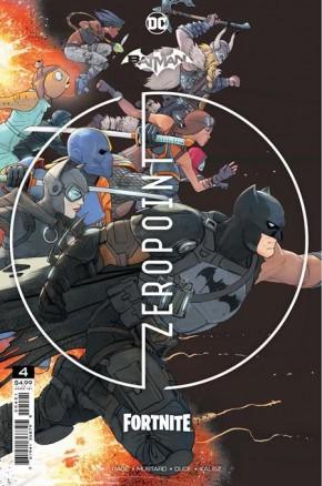 BATMAN FORTNITE ZERO POINT #4 2ND PRINTING