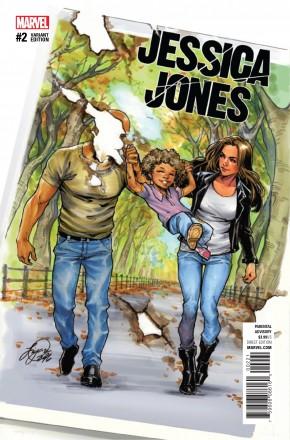 JESSICA JONES #2 OUM 1 IN 25 INCENTIVE VARIANT COVER