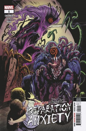 ABSOLUTE CARNAGE SEPARATION ANXIETY #1 2ND PRINTING