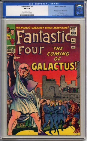 FANTASTIC FOUR #48 CGC 9.4 OFF WHITE TO WHITE PAGES