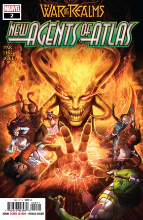 WAR OF THE REALMS NEW AGENTS OF ATLAS #2 1ST PRINTING