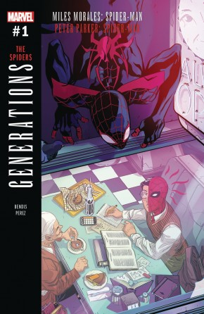 GENERATIONS MORALES AND PARKER SPIDER-MAN #1