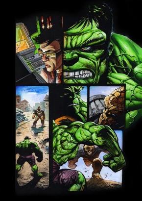 Simon Bisley Original Art Incredible Hulk #620 Page 1
