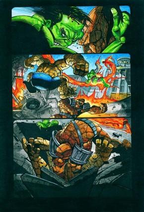 Simon Bisley Original Art Incredible Hulk #620 Page 7