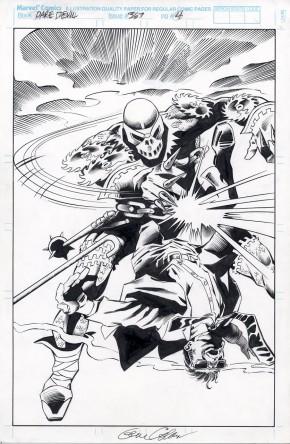 GENE COLAN ORIGINAL ART - DAREDEVIL #367 PAGE 4 Marvel Comics (1997)