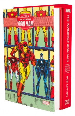BOB LAYTONS IRON MAN ARTIST SELECT HARDCOVER