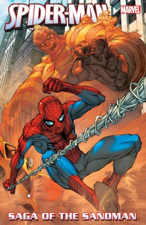 SPIDER-MAN SAGA OF THE SANDMAN GRAPHIC NOVEL