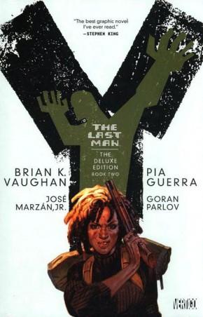 Y THE LAST MAN VOLUME 2 DELUXE HARDCOVER