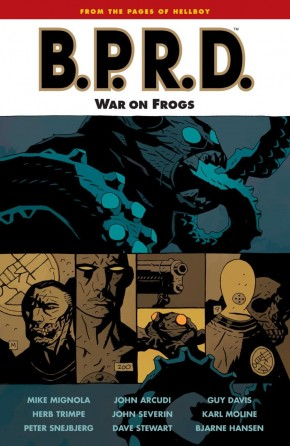 BPRD VOLUME 12 WAR ON FROGS GRAPHIC NOVEL