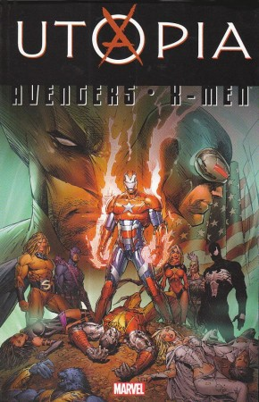 AVENGERS X-MEN UTOPIA GRAPHIC NOVEL