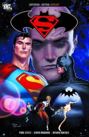 SUPERMAN BATMAN WORSHIP GRAPHIC NOVEL
