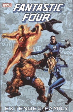FANTASTIC FOUR EXTENDED FAMILY GRAPHIC NOVEL