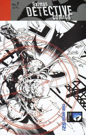 DETECTIVE COMICS #7 (2011 SERIES) 1 IN 25 INCENTIVE