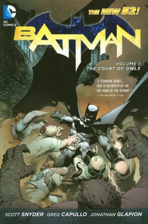BATMAN VOLUME 1 THE COURT OF OWLS HARDCOVER