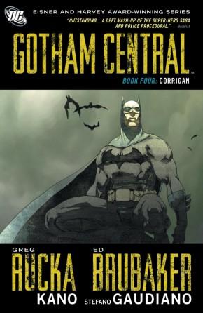 GOTHAM CENTRAL BOOK 4 CORRIGAN GRAPHIC NOVEL
