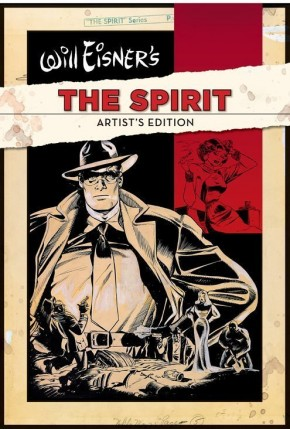 WILL EISNER THE SPIRIT ARTIST EDITION VOLUME 1 HARDCOVER
