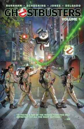 GHOSTBUSTERS VOLUME 1 MAN FROM THE MIRROR GRAPHIC NOVEL