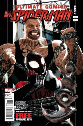 ULTIMATE COMICS SPIDER-MAN #8 (2011 SERIES)