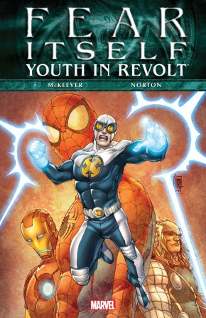 FEAR ITSELF YOUTH IN REVOLT HARDCOVER