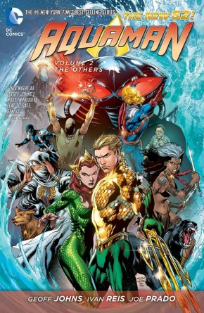 AQUAMAN VOLUME 2 THE OTHERS HARDCOVER