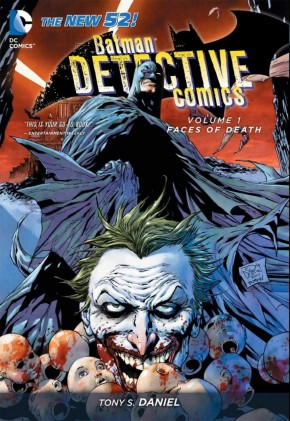 BATMAN DETECTIVE COMICS VOLUME 1 FACES OF DEATH GRAPHIC NOVEL