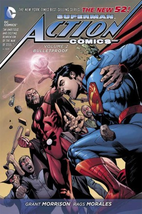 SUPERMAN ACTION COMICS VOLUME 2 BULLETPROOF HARDCOVER