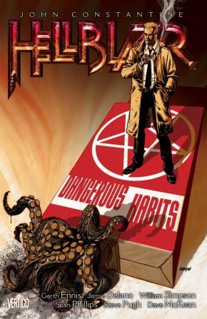 HELLBLAZER VOLUME 5 DANGEROUS HABITS GRAPHIC NOVEL