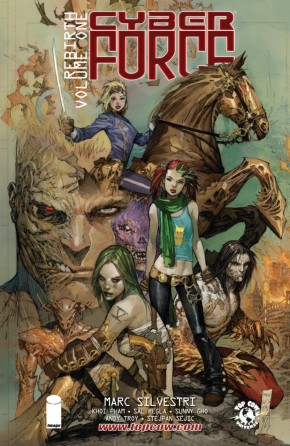 CYBER FORCE REBIRTH VOLUME 1 GRAPHIC NOVEL
