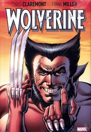 WOLVERINE BY CLAREMONT AND MILLER OVERSIZED HARDCOVER